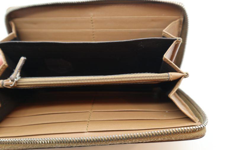 Gucci Geldbörse Leder braun -14886