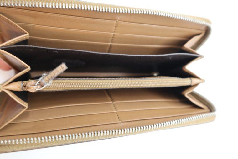 Gucci Geldbörse Leder braun -14887