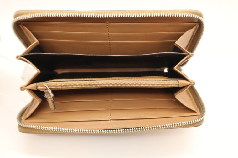 Gucci Geldbörse Leder braun -14889