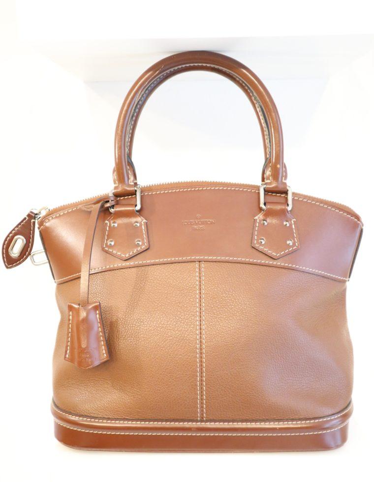 Louis Vuitton Tasche Lockit Lockit PM Suhali Leder braun-0