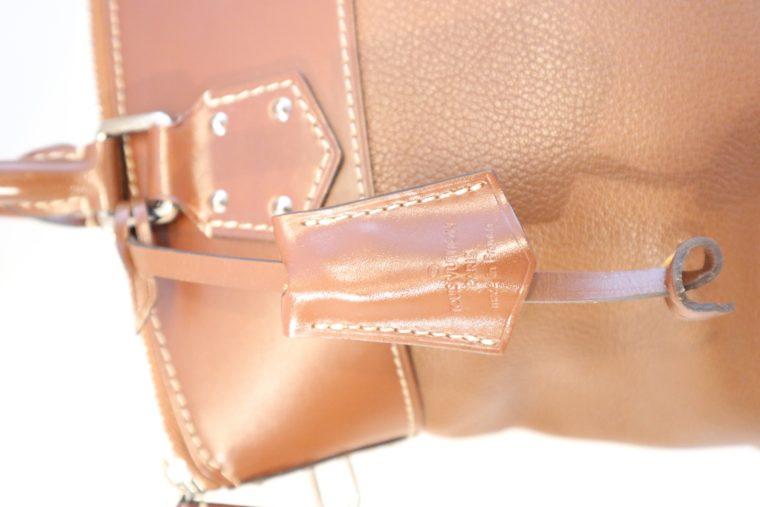 Louis Vuitton Tasche Lockit Lockit PM Suhali Leder braun-14824