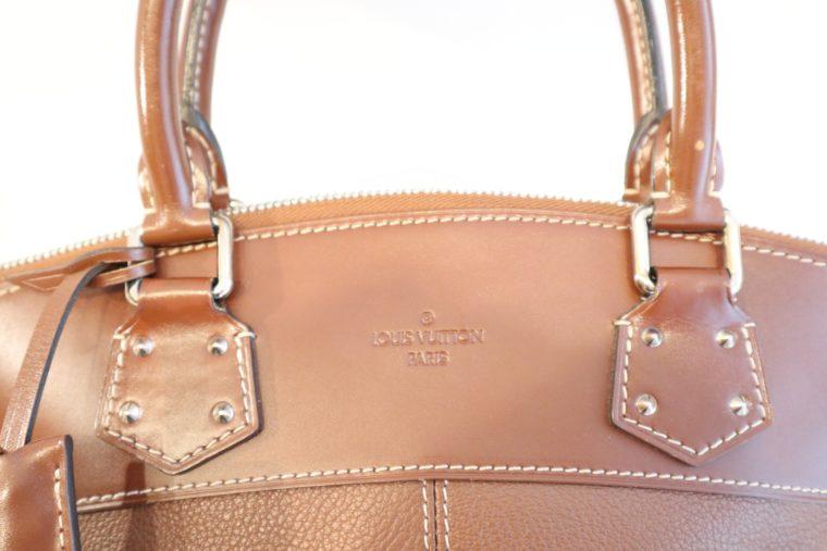 Louis Vuitton Tasche Lockit Lockit PM Suhali Leder braun-14826