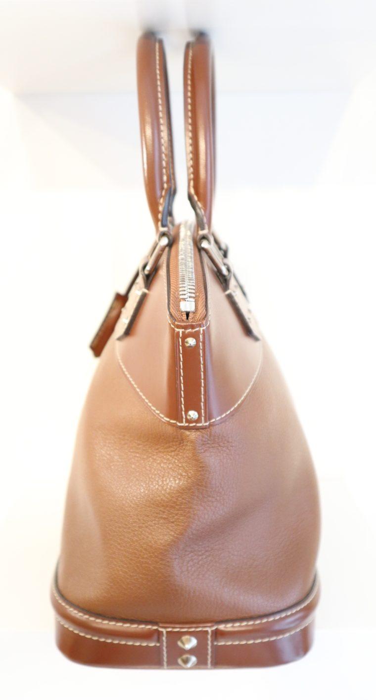 Louis Vuitton Tasche Lockit Lockit PM Suhali Leder braun-14827