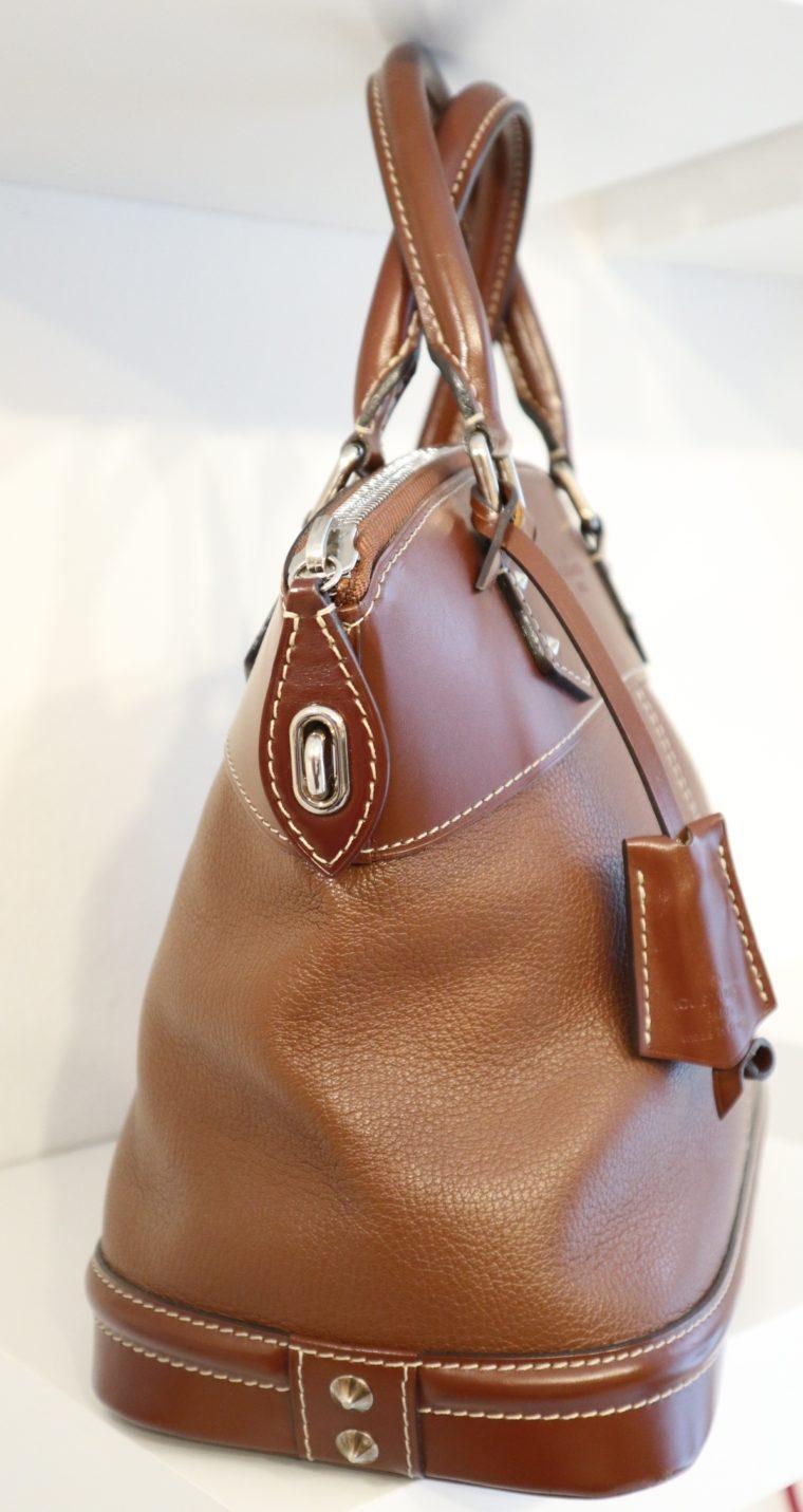 Louis Vuitton Tasche Lockit Lockit PM Suhali Leder braun-14829
