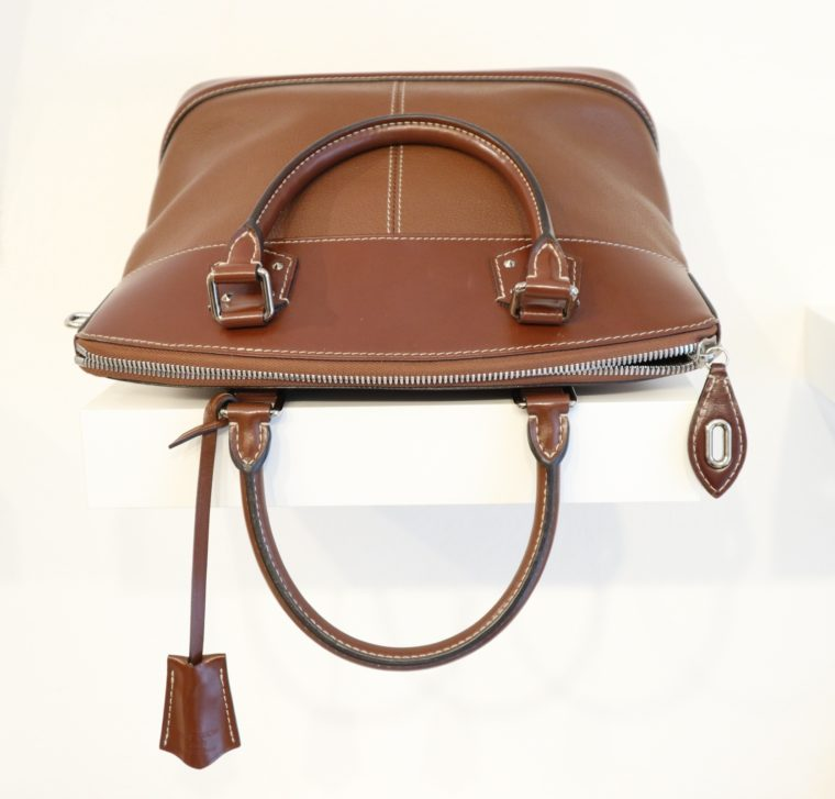 Louis Vuitton Tasche Lockit Lockit PM Suhali Leder braun-14828