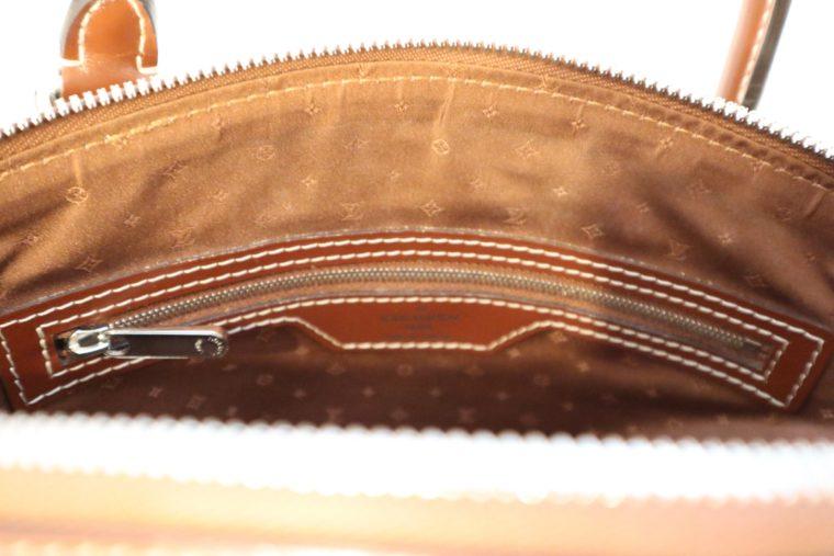 Louis Vuitton Tasche Lockit Lockit PM Suhali Leder braun-14830