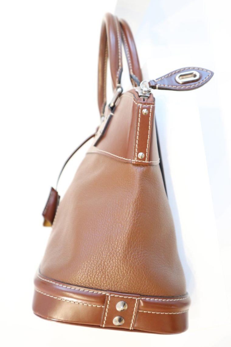 Louis Vuitton Tasche Lockit Lockit PM Suhali Leder braun-14834