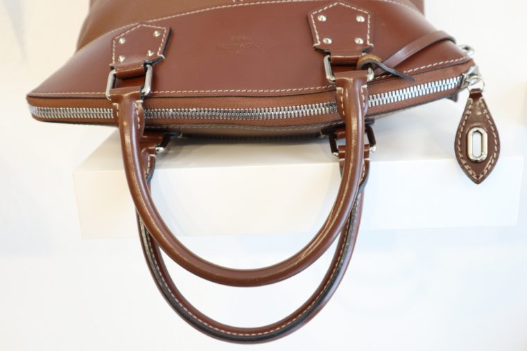 Louis Vuitton Tasche Lockit Lockit PM Suhali Leder braun-14835