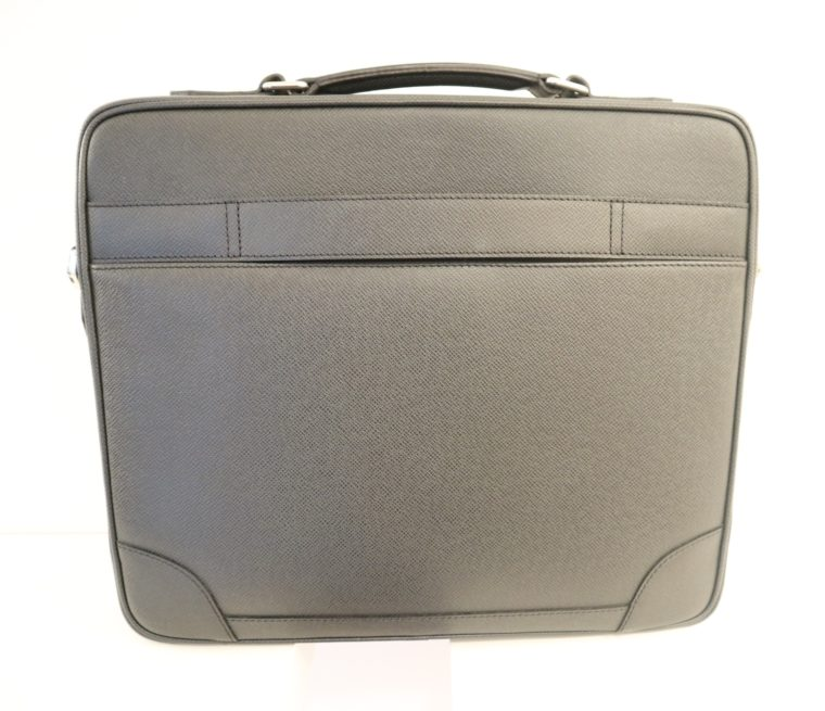 Louis Vuitton Aktentasche Sabana Taiga Leder grau schwarz-14811