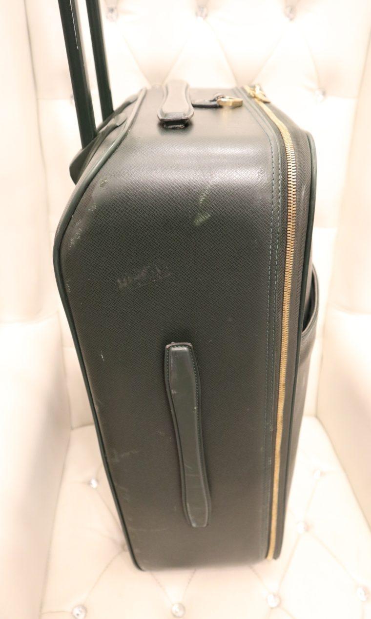 Louis Vuitton Trolley Koffer Pégase 55 Taiga Leder grün-14840