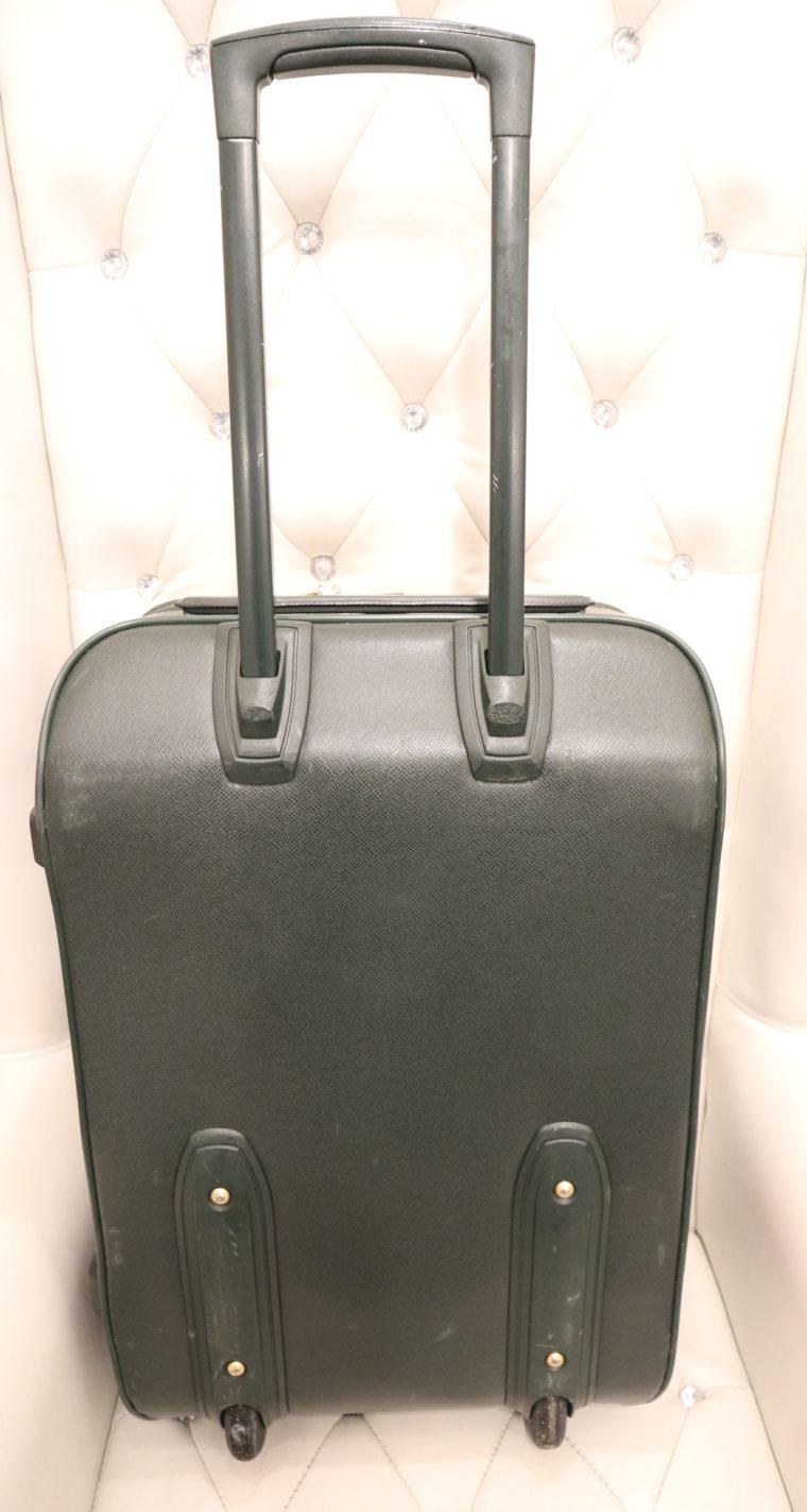 Louis Vuitton Trolley Koffer Pégase 55 Taiga Leder grün-14841