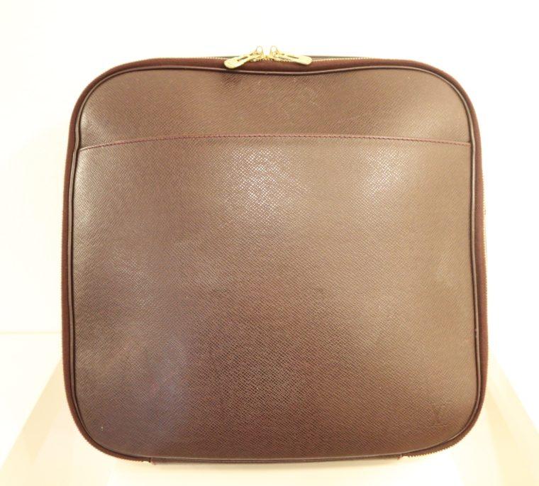Louis Vuitton Tasche Reisetasche Porte Ordinateur Ture Taiga Leder rot-14852