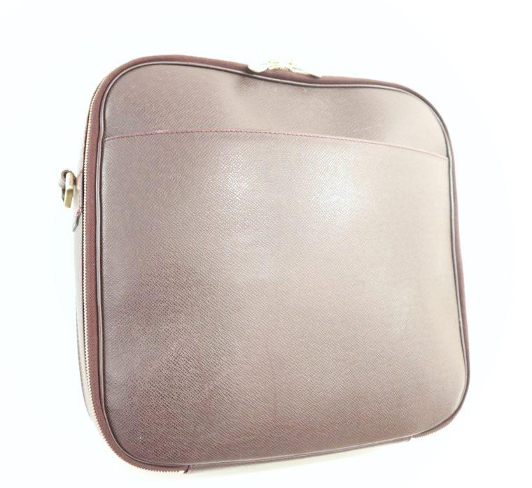 Louis Vuitton Tasche Reisetasche Porte Ordinateur Ture Taiga Leder rot-14850