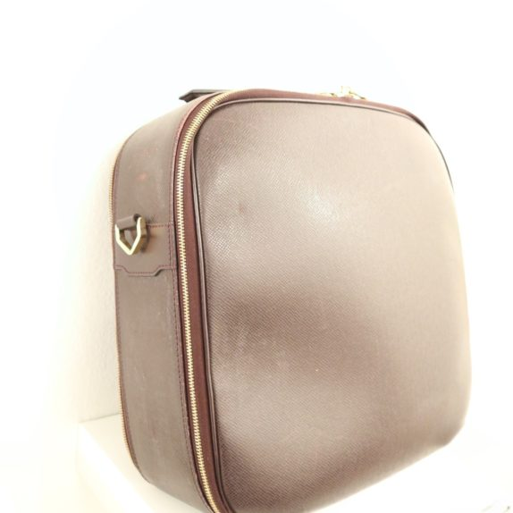 Louis Vuitton Tasche Reisetasche Porte Ordinateur Ture Taiga Leder rot