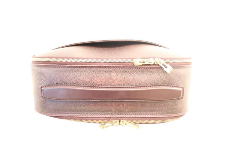 Louis Vuitton Tasche Reisetasche Porte Ordinateur Ture Taiga Leder rot-14860