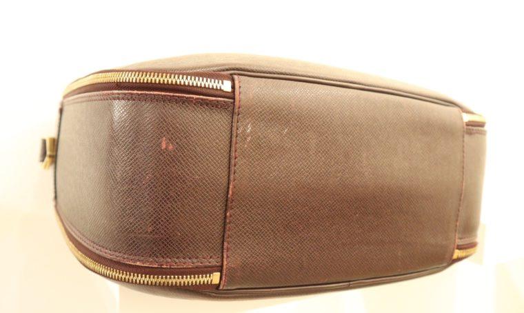 Louis Vuitton Tasche Reisetasche Porte Ordinateur Ture Taiga Leder rot-14859