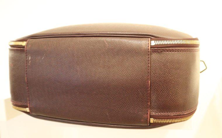 Louis Vuitton Tasche Reisetasche Porte Ordinateur Ture Taiga Leder rot-14862
