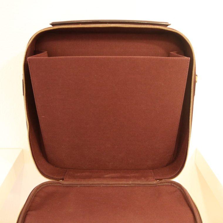 Louis Vuitton Tasche Reisetasche Porte Ordinateur Ture Taiga Leder rot-14865
