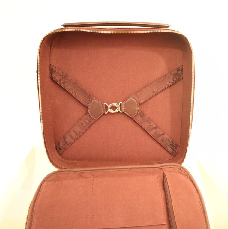 Louis Vuitton Tasche Reisetasche Porte Ordinateur Ture Taiga Leder rot-14867
