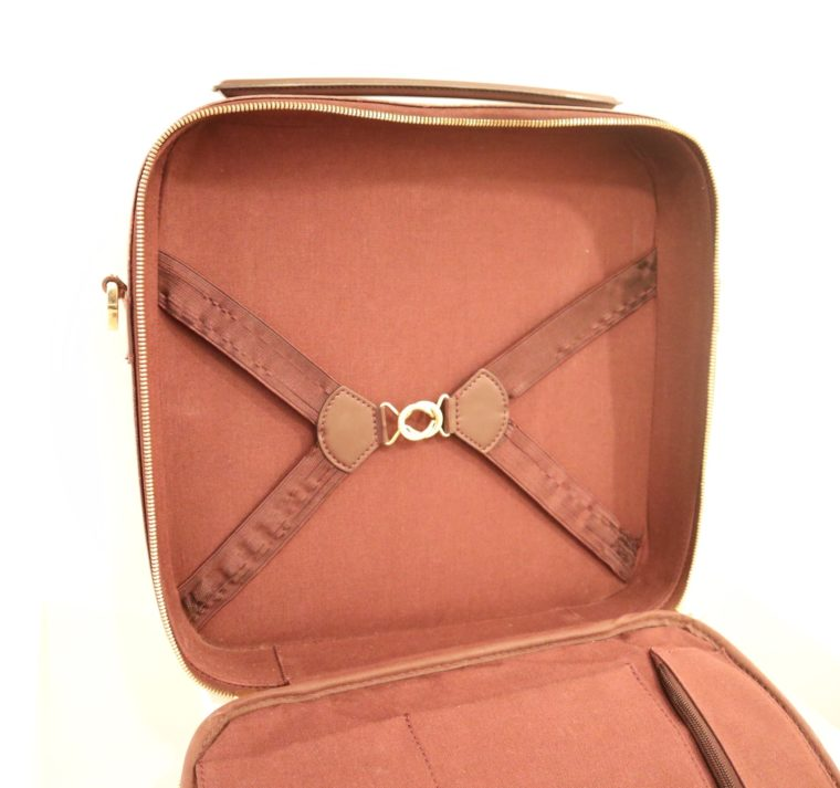Louis Vuitton Tasche Reisetasche Porte Ordinateur Ture Taiga Leder rot-14866