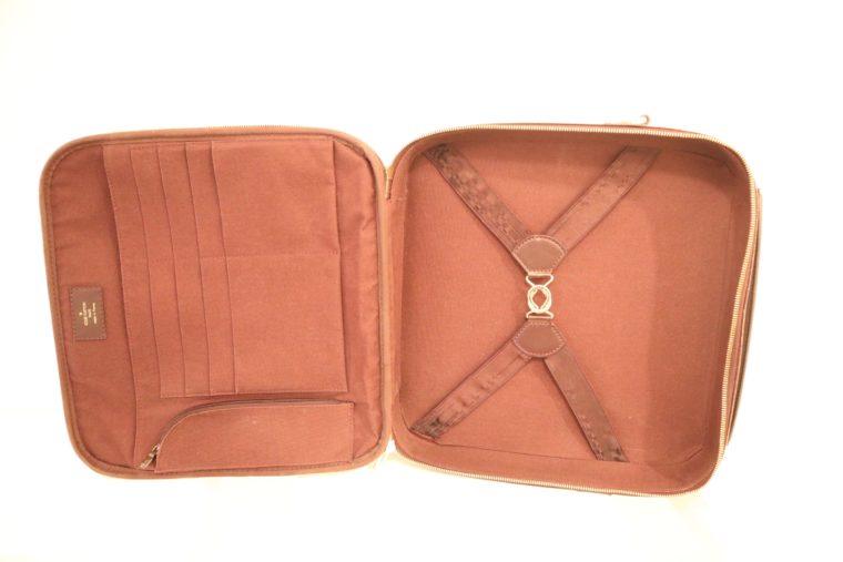 Louis Vuitton Tasche Reisetasche Porte Ordinateur Ture Taiga Leder rot-14868