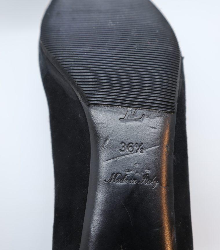 Louis Vuitton Pumps schwarz Rose 36-14922