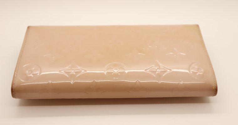 Louis Vuitton Geldbörse Sarah Vernis Leder beige -15019