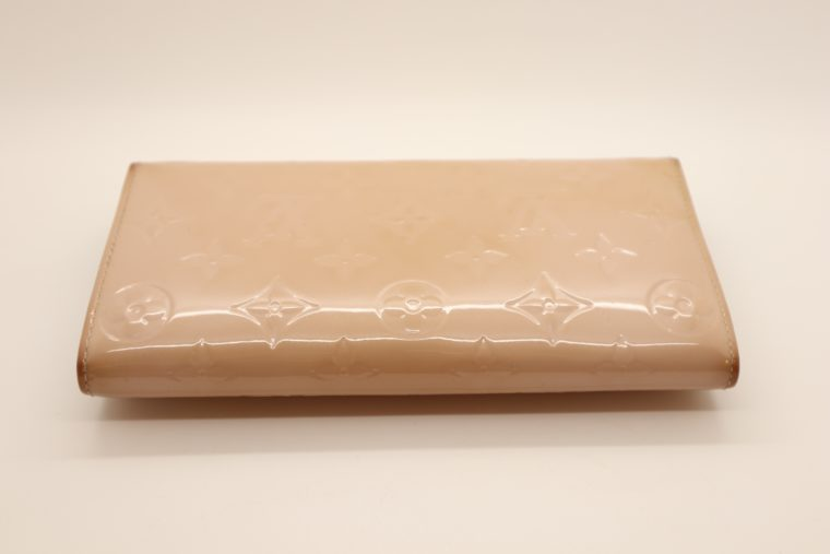 Louis Vuitton Geldbörse Sarah Vernis Leder beige -15016