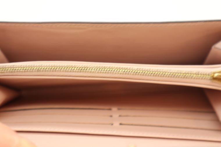 Louis Vuitton Geldbörse Sarah Vernis Leder beige -15021