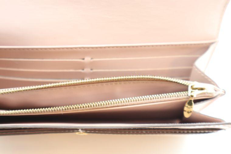 Louis Vuitton Geldbörse Sarah Vernis Leder beige -15023
