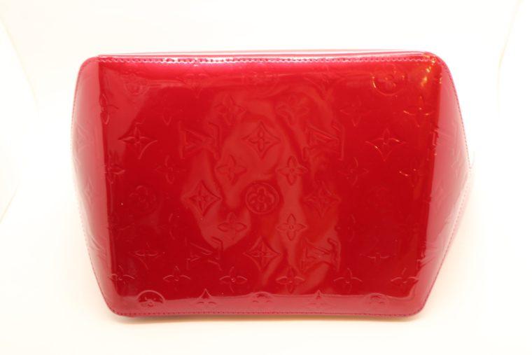 Louis Vuitton Tasche Bellevue Vernis Leder rot-14968