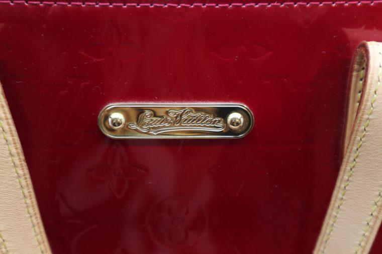 Louis Vuitton Tasche Bellevue Vernis Leder rot-14970