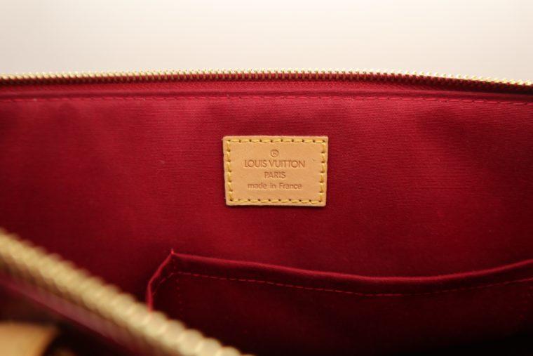 Louis Vuitton Tasche Bellevue Vernis Leder rot-14969