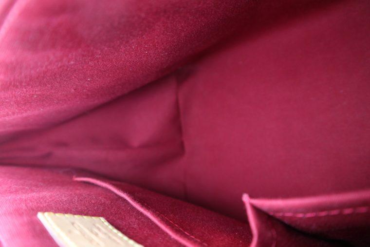 Louis Vuitton Tasche Bellevue Vernis Leder rot-14971