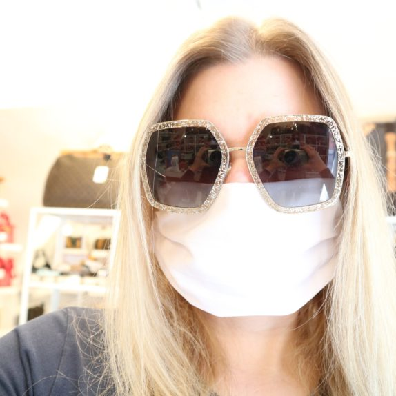 50 Stück Mund & Nasen Masken weiß bedruckbar wiederverwendbar waschbar
