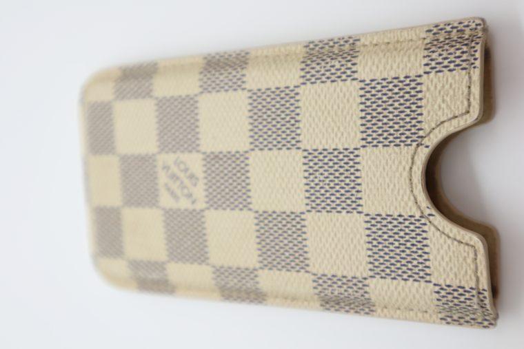 Louis Vuitton Handyhülle Damier azur-15295