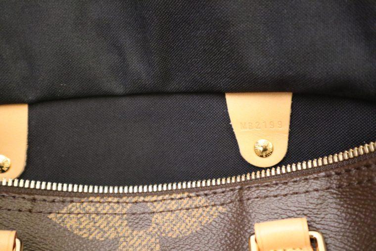 Louis Vuitton Tasche Speedy 30 band. giant Monogram-15308