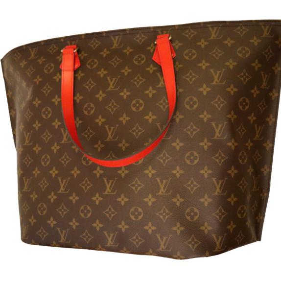 Louis Vuitton Tasche Reisetasche All in MM Monogram Canvas rot