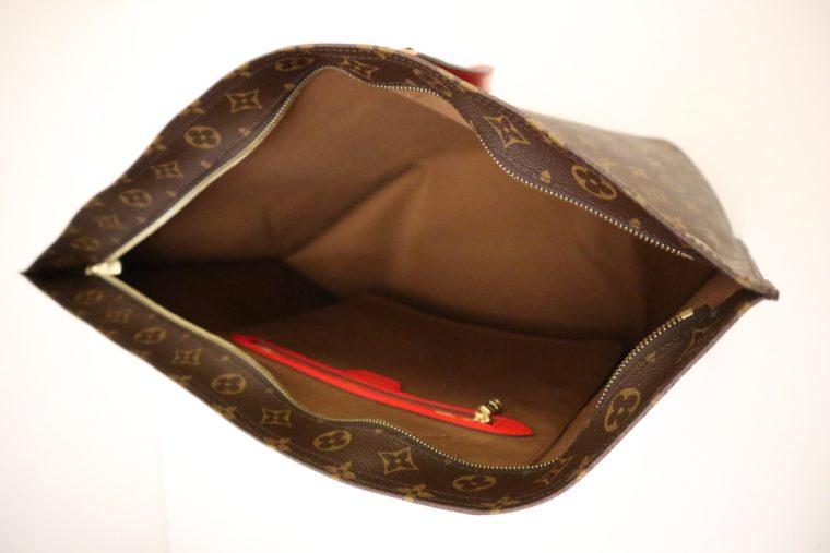 Louis Vuitton Tasche Reisetasche All in MM Monogram Canvas rot-15379
