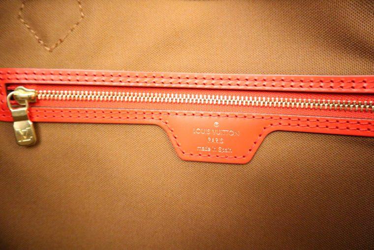 Louis Vuitton Tasche Reisetasche All in MM Monogram Canvas rot-15380