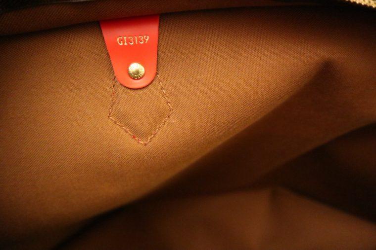 Louis Vuitton Tasche Reisetasche All in MM Monogram Canvas rot-15384