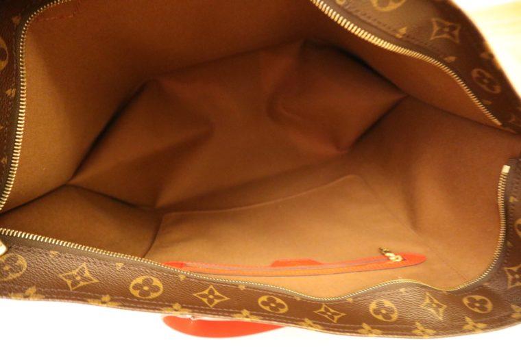 Louis Vuitton Tasche Reisetasche All in MM Monogram Canvas rot-15385