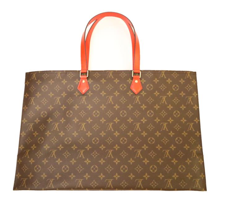 Louis Vuitton Tasche Reisetasche All in MM Monogram Canvas rot-15386