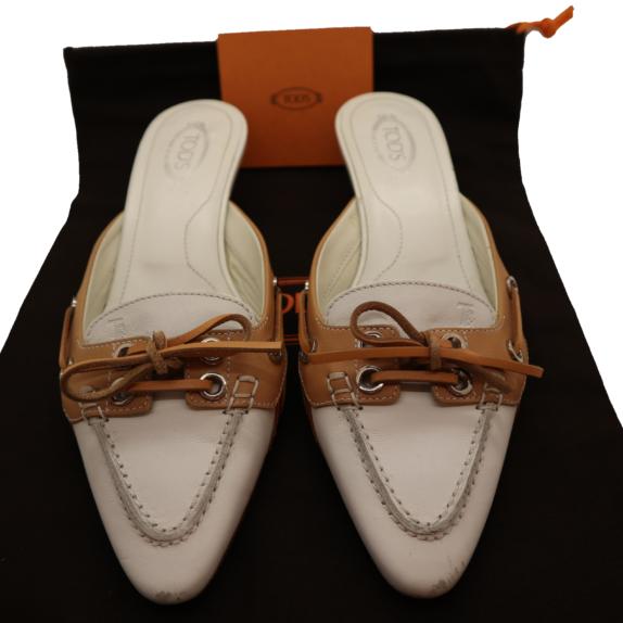 Tods Schuhe Pumps 37 weiß