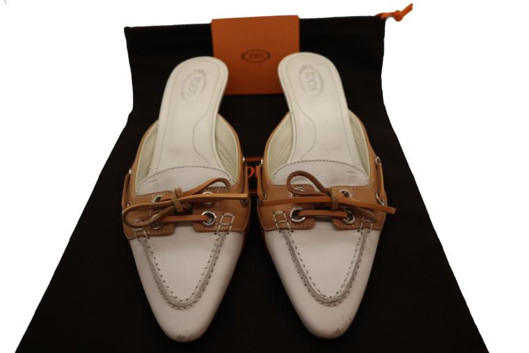 Tods Schuhe Pumps 37 weiß-0