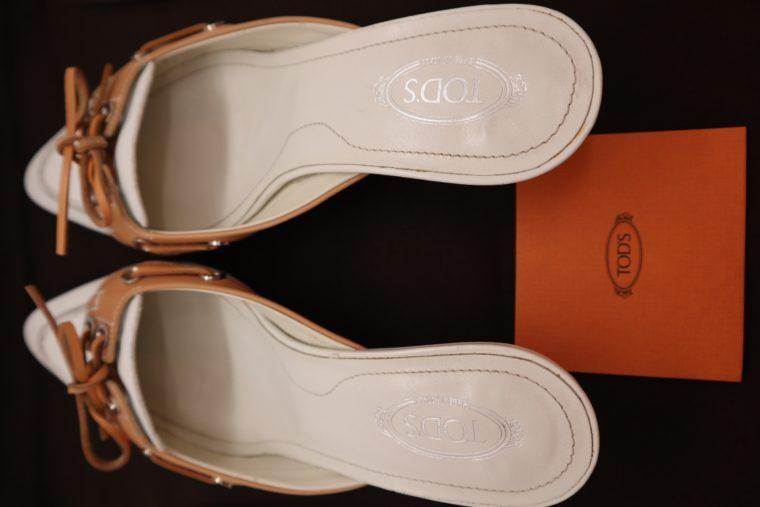 Tods Schuhe Pumps 37 weiß-15317