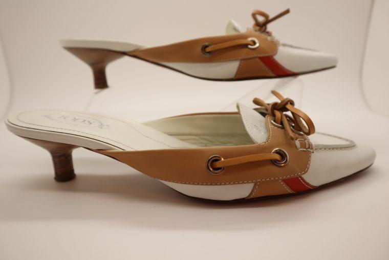 Tods Schuhe Pumps 37 weiß-15313