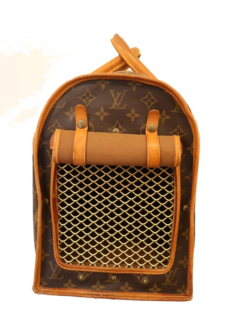 Louis Vuitton Hundetransportbox Baxter Monogram Canvas-15447