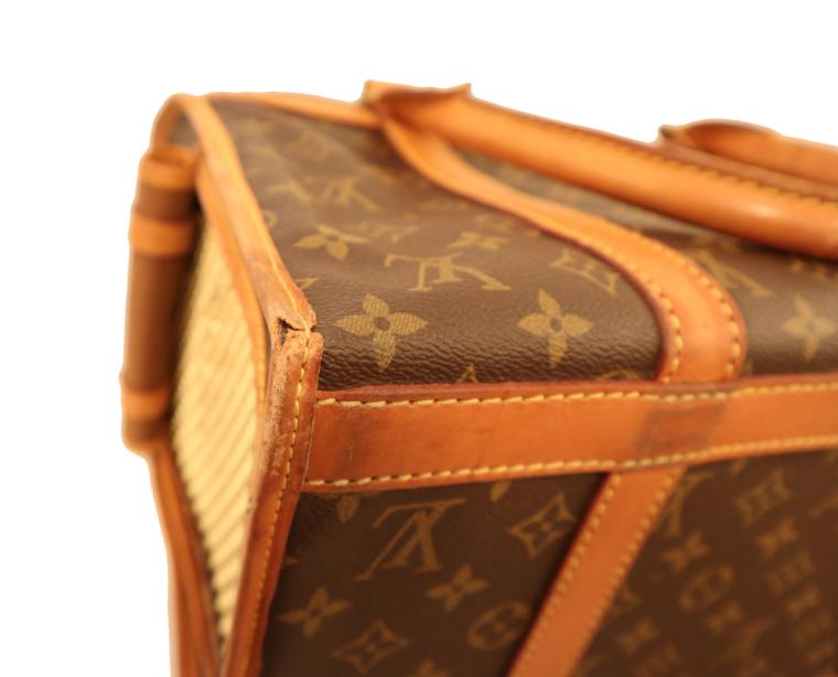 Louis Vuitton Hundetransportbox Baxter Monogram Canvas-15457