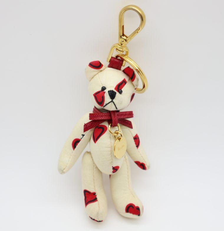 Prada Schlüsselanhänger Taschenanhänger Bär-0